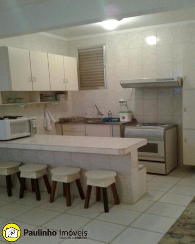 ótimo apartamento de frente para mar no centro de peruíbe. - ap00334 - 2832769