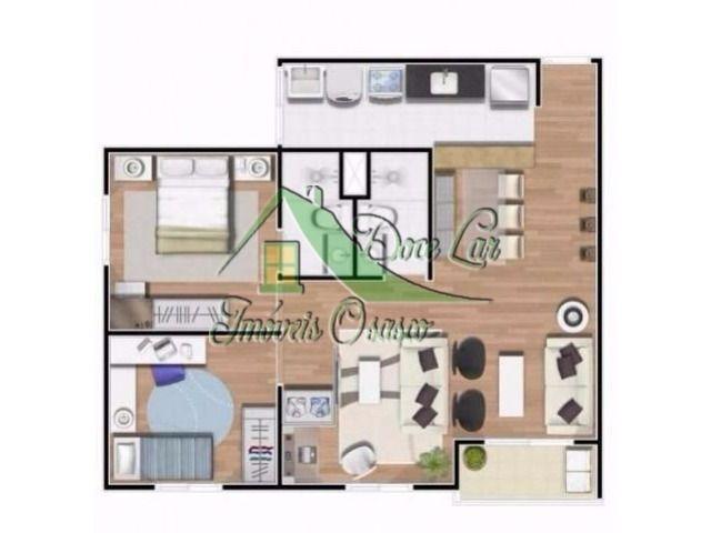 ótimo apartamento evolution family club, barueri.