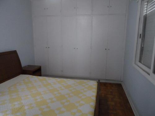 ótimo apartamento para alugar 3 dormitórios - próximo à praia - astúrias - guarujá - ap0976