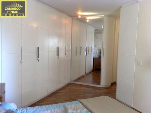 ótimo apartamento perdizes com 195 metros,3 vagas,4terraços mobiliado reformado lazer total confira! - eb73275
