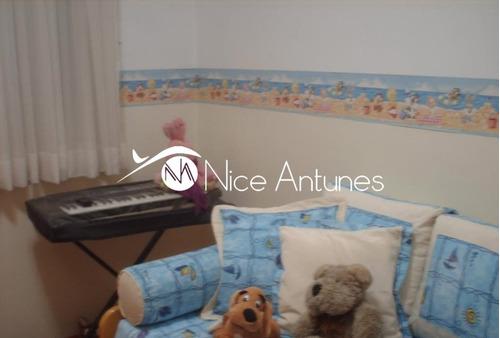 ótimo apartamento,piso laminado nos dormitórios e sala e repleto de armários! - na5260