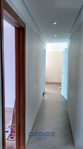ótimo apto 2 dormitórios - vila milton - 00285-1
