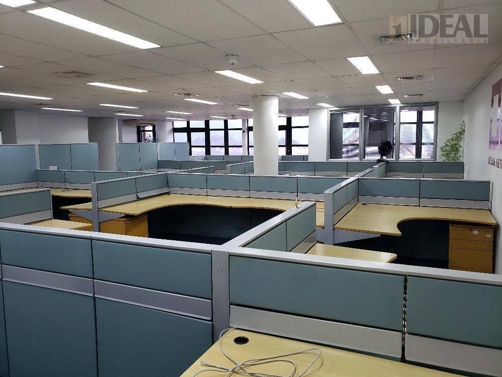 ótimo conjunto mobiliado para escritório aduaneiro - frente ao porto - cj0103