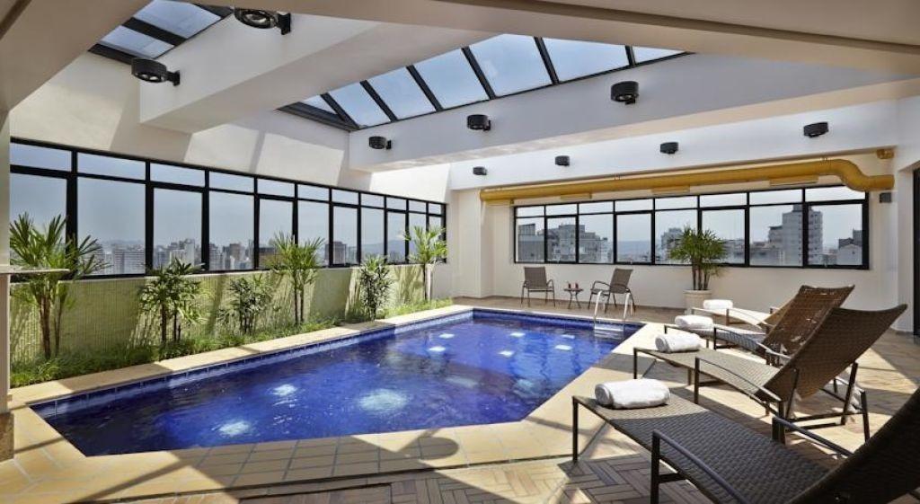 ótimo flat no pool para investimento próximo ao estadio do pacaembu  - sf27856