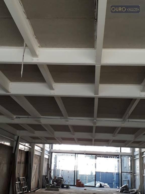 otimo galpão av paes de barros mooca  construção nova - ga0406