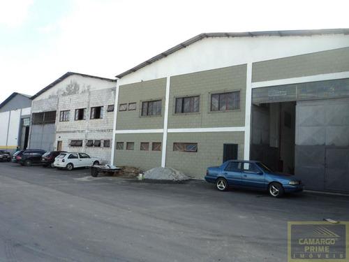 ótimo galpão industrial e comercial em condomínio de galpões próximo a estrada do são francisco.  - eb63889