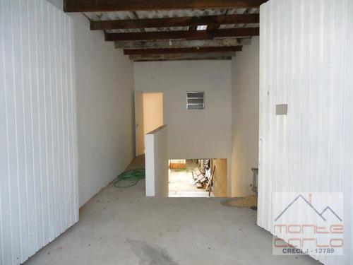 ótimo galpão para alugar, 400 m² - vila euclides - são bernardo do campo/sp. - ga0028