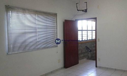ótimo galpão para locação próximo ao shopping panorâmico, sorocaba, 250 m² - ga0040