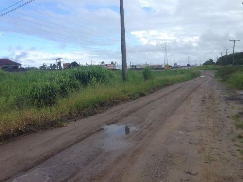 ótimo lote de terreno de frente para a rodovia - ref 0576