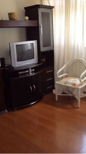 otimo, mobiliado, sendo 1 dormitorio, sala, cozinha, 50 m², mobilia tv, cama, fogão, sofá. - ap2677