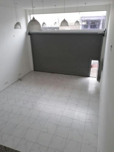 ótimo salão comercial reformado - barcelona - 1259