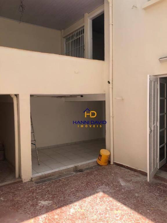 ótimo sobrado com - 200m² - locação - 7 salas e 2 vagas de garagem - ao lado metrô ana rosa. vasto comércio, clínicas, lojas e hospital santa rita. - so0067