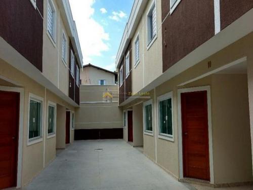 ótimo sobrado em condomínio fechado no bairro jardim popular - 2194