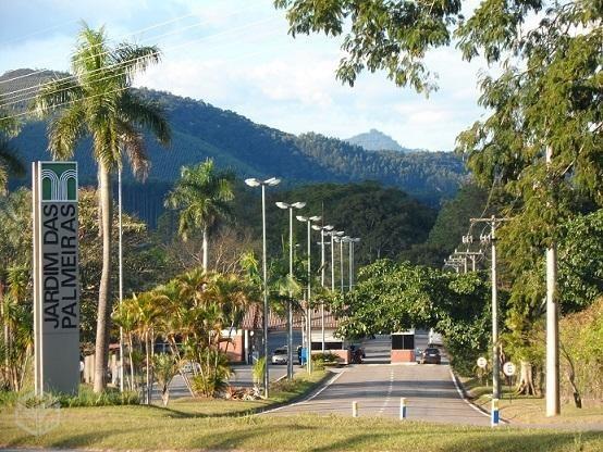 ótimo terreno 1510m² condomínio jardim das palmeiras