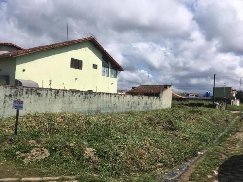ótimo terreno de esquina no cibratel, em itanhaém - ref 4626