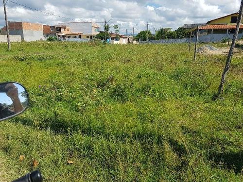 ótimo terreno de esquina no jardim marambá - ref 4232