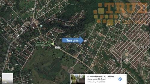 ótimo terreno em aldeia - te0030