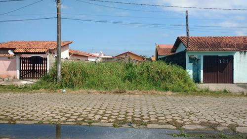 ótimo terreno em itanhaém no cibratel 1 ,lado praia, te-110