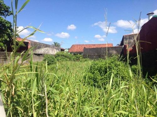 ótimo terreno no balneário tupy, em itanhaém - ref 2551