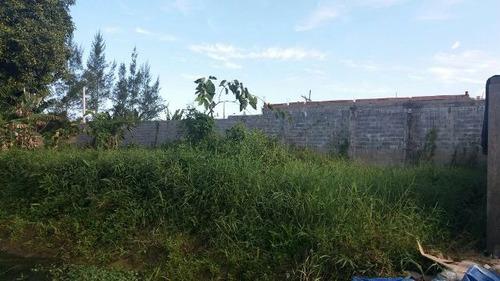ótimo terreno no cibratel ii, em itanhaém, ref 4435