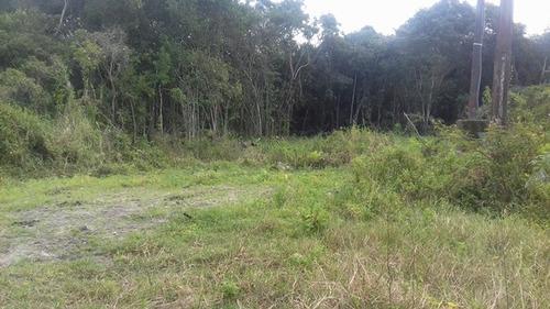 ótimo terreno no jardim marambá  2, em itanhaém - ref 3067