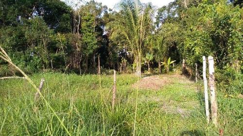 ótimo terreno no jardim marambá, em itanhaém - ref 4377