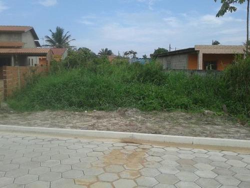 ótimo terreno no jardim palmeiras, em itanhaém ref 2513