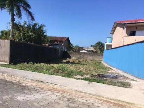 ótimo terreno no jardim palmeiras, em itanhaém - ref 4461