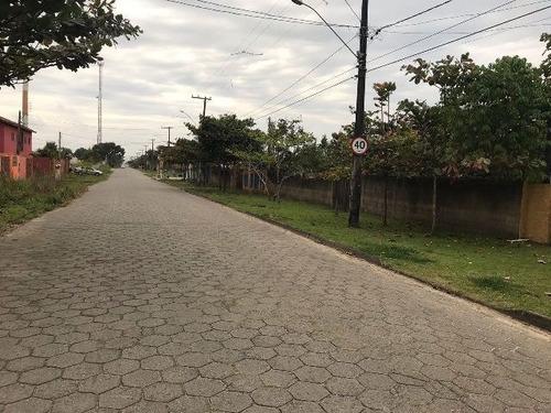 ótimo terreno no litoral- 337 m²- rua asfaltada- itanhaém/sp