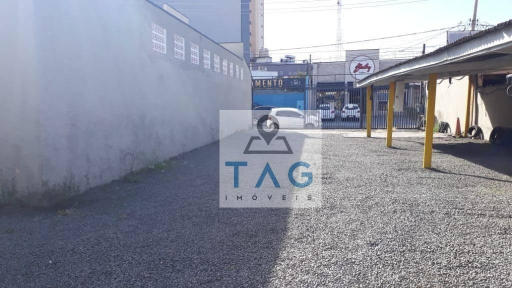ótimo terreno para estacionamento e outros comércio - te0042