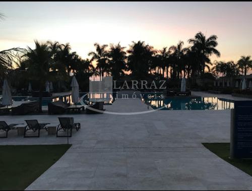 ótimo terreno residencial para venda no complexo santa barbara resort residence na cidadse de aguas de santa barbara com 450 m2, pronto para construir - te00216 - 33743722