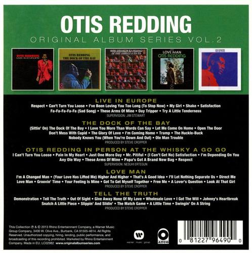 otis redding - original album series vol.2 (5 cds pack)