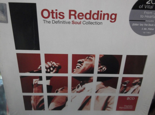 otis redding the definitive soul collection 2cds sellado