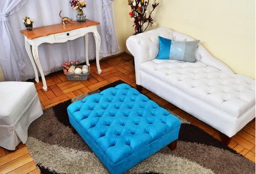 Perfecto Muebles Mesa De Centro Redonda Otomana Imágenes - Muebles ...