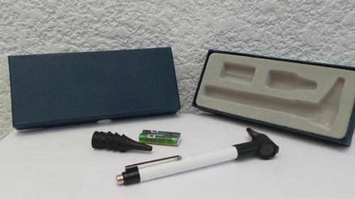 otoscopio 6 especul + pilas + estuche + invima + envi gratis