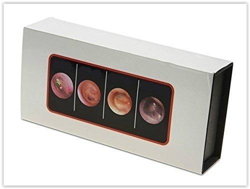 otoscopio dr. mom led 4a generación niños adultos