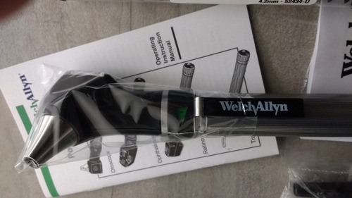 otoscopio welch allyn luz graduable profecional + estuche