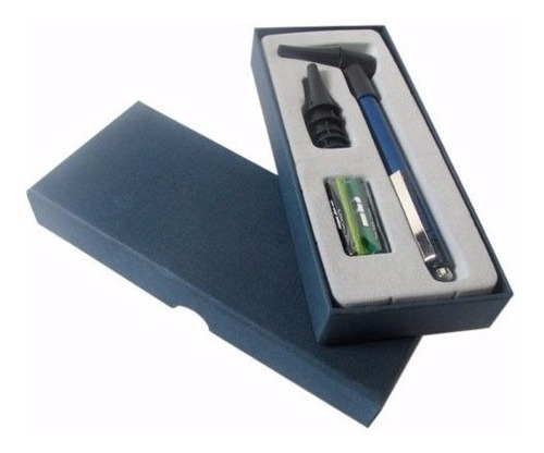 otoscopio y linterna con repuestos + estuche + envío gratis