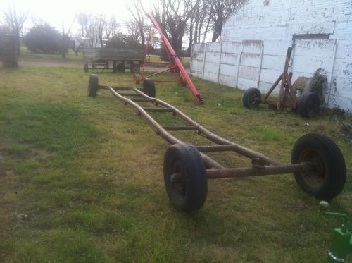 otras maquinarias acoplado carreton para sembradora