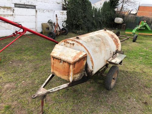 otras maquinarias tanque de combustible 1 eje 1500lts.