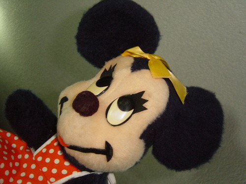 otro peluche antiguo minnie mouse walt disney character