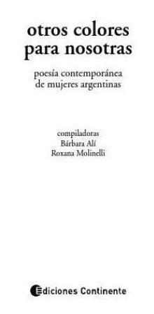 otros colores para nosotras : poesia contemporanea de mujere