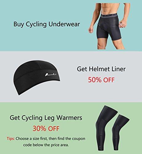 a4b3cb48f Otros Przewalski Mens 3d Padded Cycling Underwear