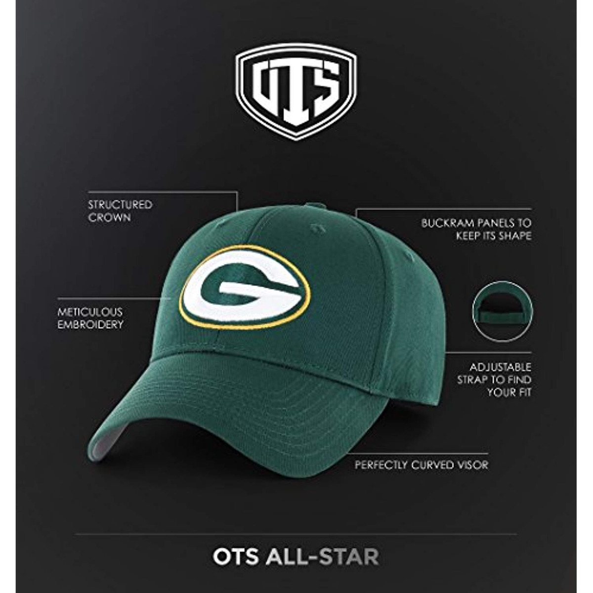separation shoes b9a81 62eee ots nhl adult men s essential all-star adjustable hat. Cargando zoom.