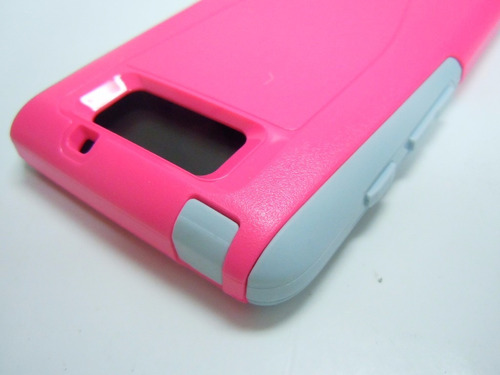 otterbox commuter series 2 layer motorola droid ultra rosado