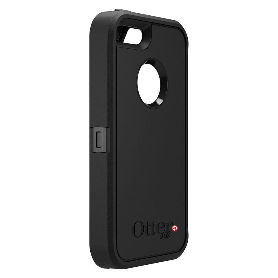 otterbox defender 100 original funda iphone 5 negro. Black Bedroom Furniture Sets. Home Design Ideas