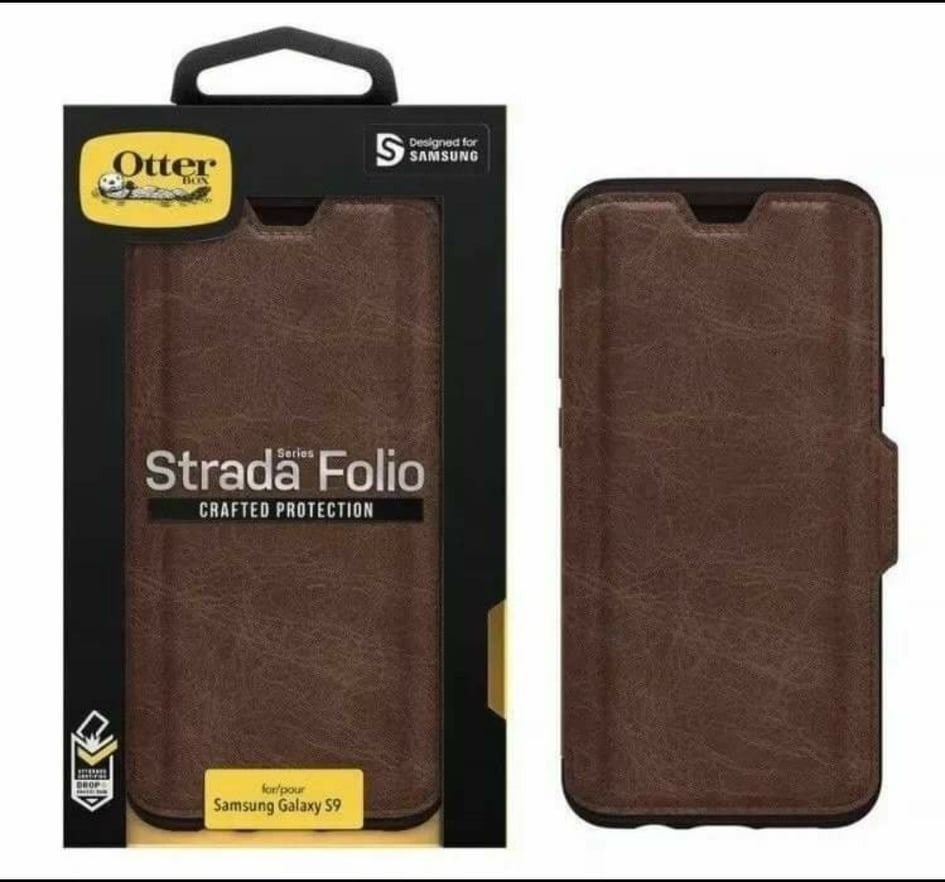 timeless design a77bd 726e9 Otterbox Strada Series Folio Samsung Galaxy S9