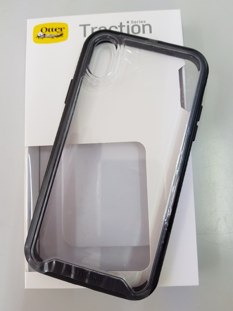 brand new f6ca0 645b9 Otterbox Traction iPhone Xr Color Negro, Anti-impactos