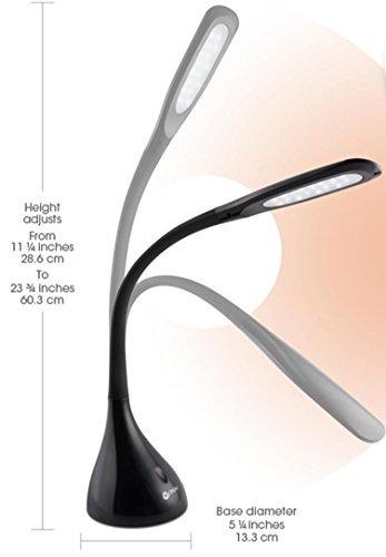 ottlite a30g59-ffp creative curves lámpara de escritorio l