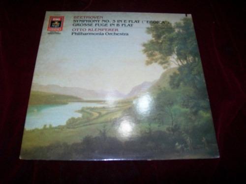 otto klemperer - beethoven sinfonia 3 lp vinil disco